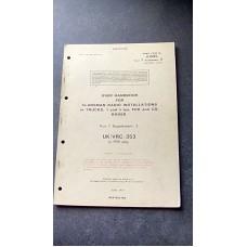 USER HANDBOOK CLANSMAN INSTALLATION VRC353